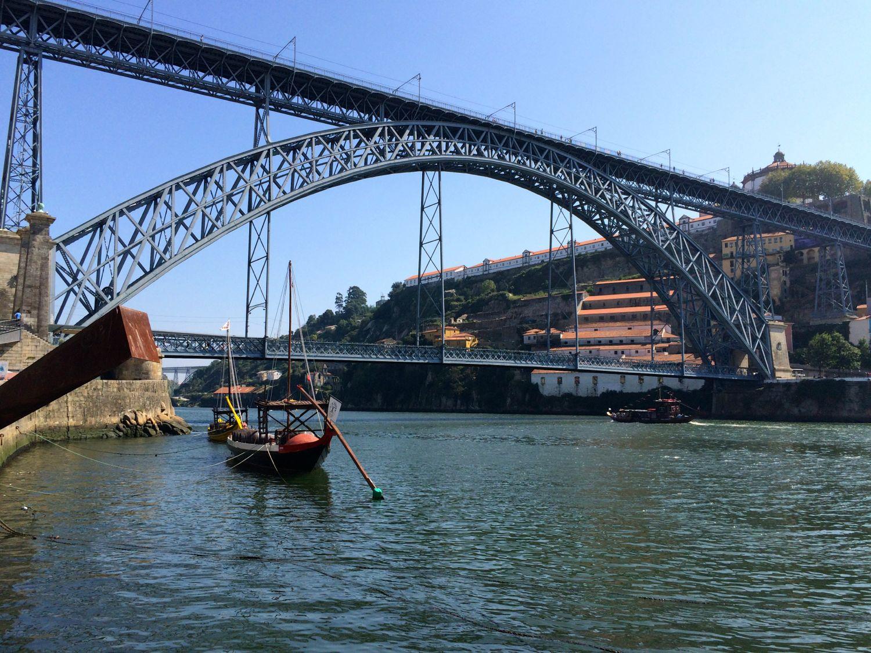 Porto - brug over de Taag