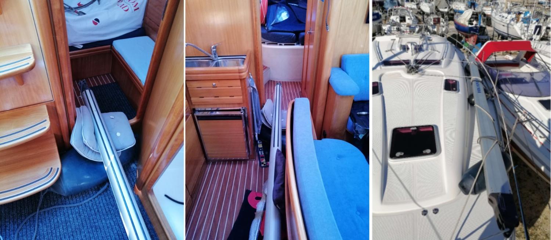 Nomas klaar voor de reis naar Nederland.